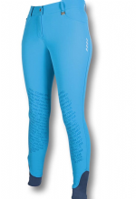 HKM PRO TEAM - TURQUOISE - NEON SPORT SILICONE KNEE - RRP £69.00 - SALE